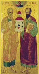 H.H. Eersttronende Apostelen Petrus en Paulus